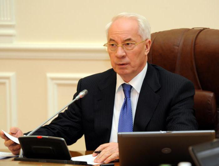 Николай Азаров: биография и фото бывшего премьер-министра