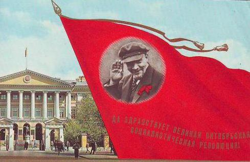 November 7th holiday in the USSR