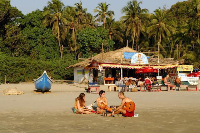 пляж арамболь гоа