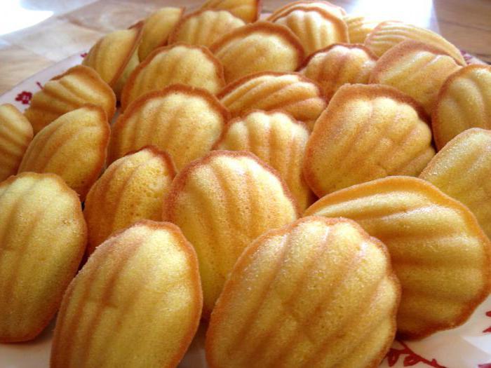 Печенье Мадлен с начинкой - рецепт пошаговый с фото