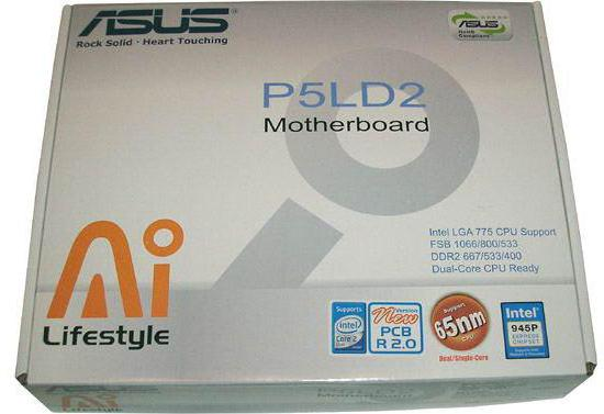 Asus p5ld2 se rev