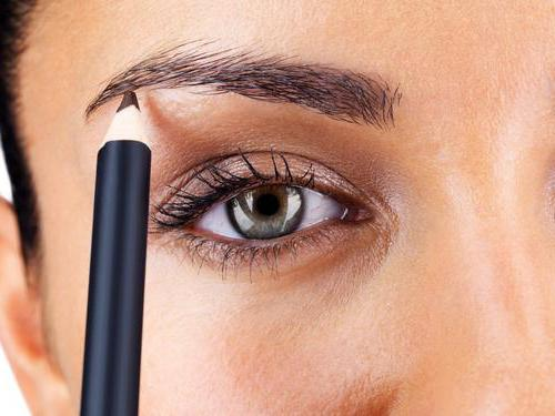 how to paint eyebrows shadows with wax