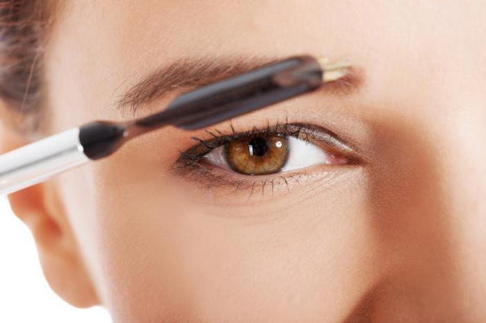 eyebrow shadows with wax