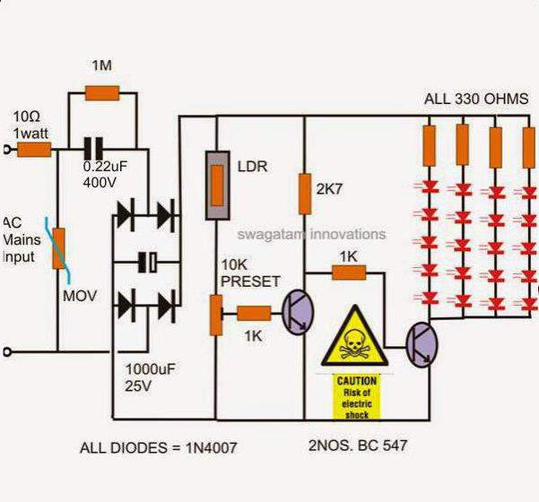 photo relay for street lighting wiring diagram