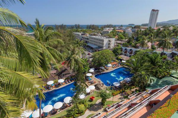 best western phuket ocean resort пляж