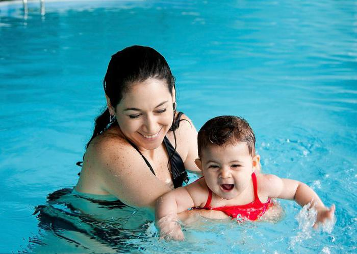 use of the pool for babies