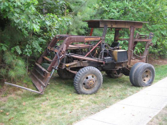 рама на самодельный трактор