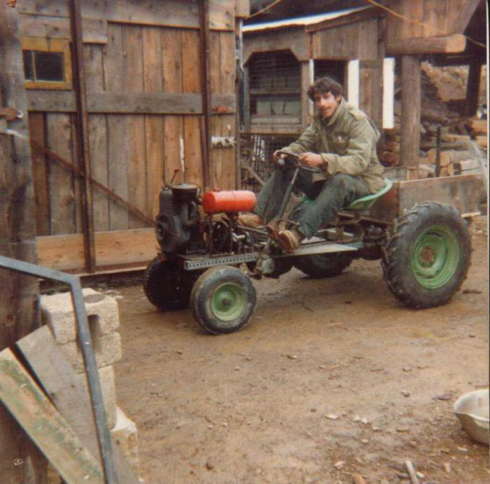 самодельные трактора на колесах