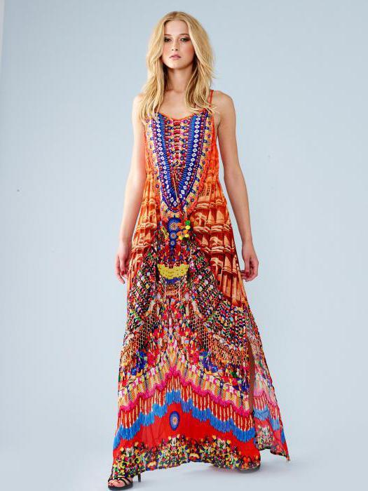 Сшить платье в стиле бохо выкройка 116