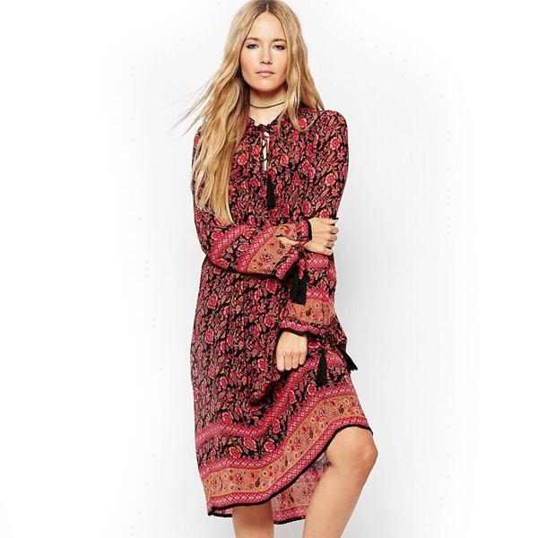 платье в стиле бохо своими руками
