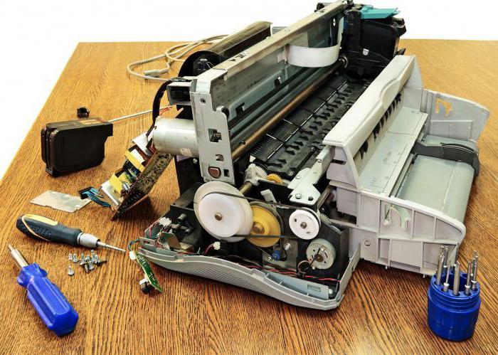 устройство лазерного принтера