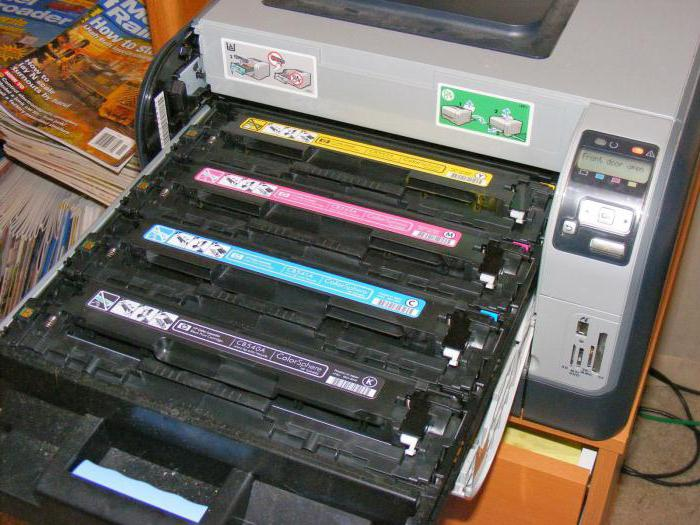 разница струйного и лазерного принтера