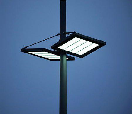 LED street light with motion sensor