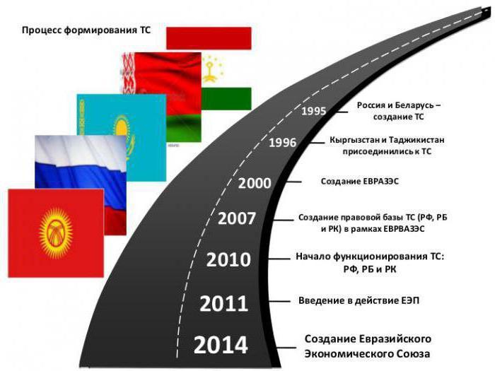 страны члены таможенного союза