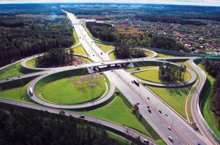 Moscow region Minsk highway