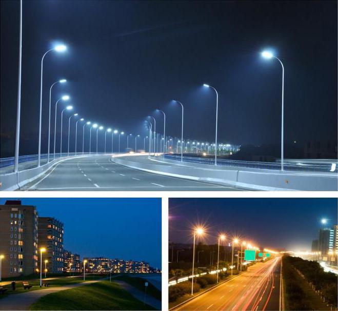 светильник светодиодный уличного освещения