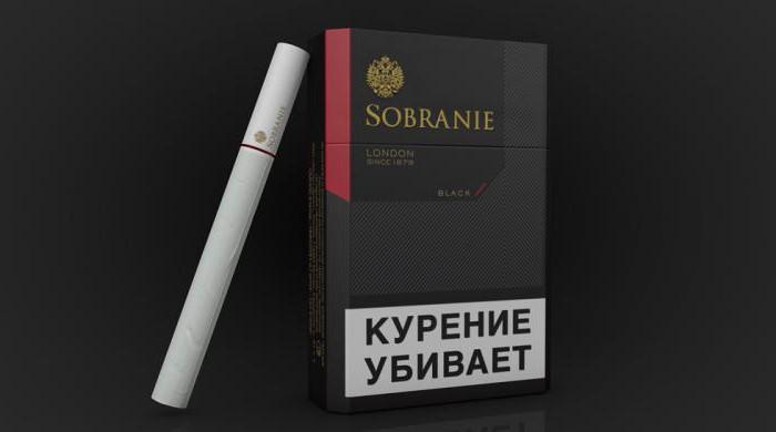 сигареты Sobranie Black