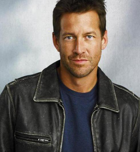 James Denton and his wife