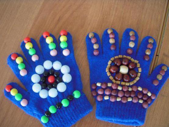Массажные рукавицы своими руками