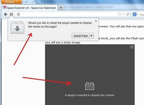 ошибка инициализации приложения adobe flash player firefox