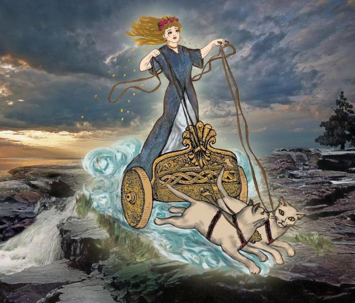одевалки фрейя богиня любви картинки кнр