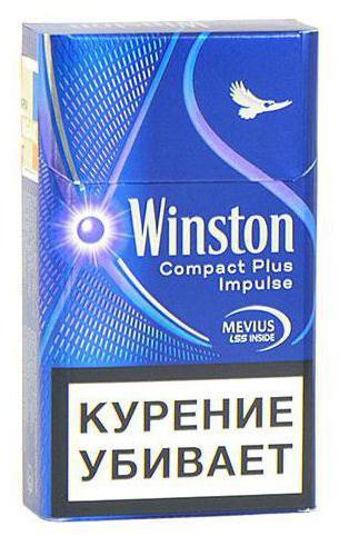 Винстон красный никотин