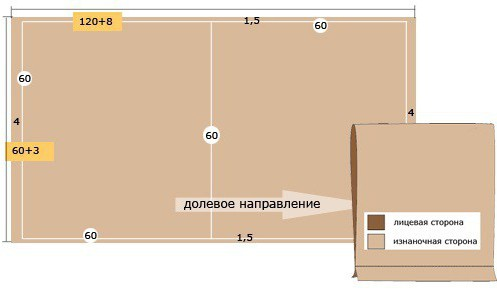 Прямоугольная подушка как сшить 715
