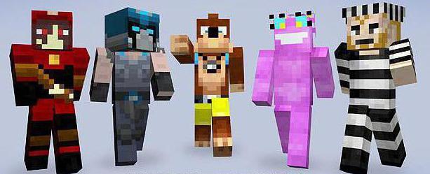 Skins by nicknames