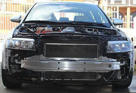 Power front bumper
