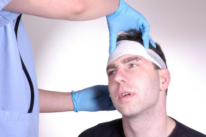 причина головной боли в лобной части головы