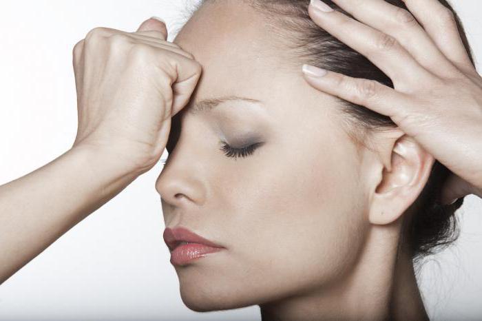 головная боль в лобной части причины лечение