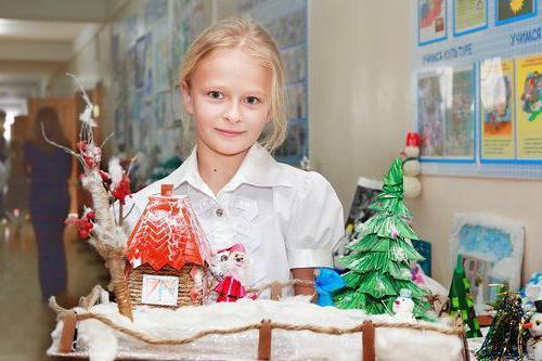 Поделки в школу новогодние