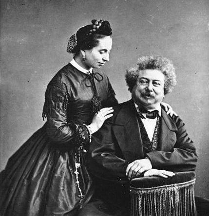 Alexandre Dumas: biography and photo