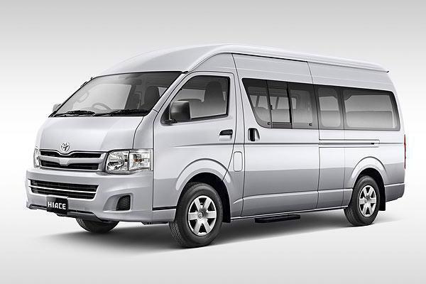микроавтобусы тойота модельный ряд