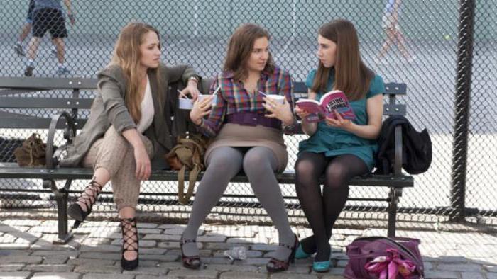 Lina Dunham in the film girls