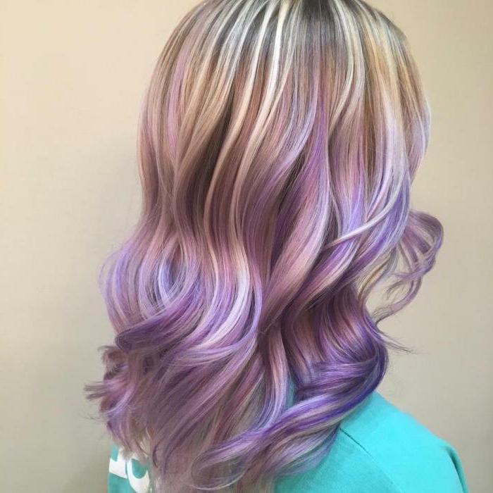 холодный блонд красивый и популярный цвет волос