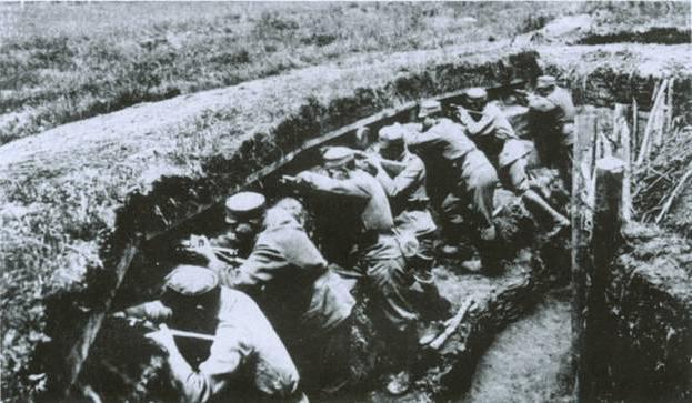 Galician battle briefly