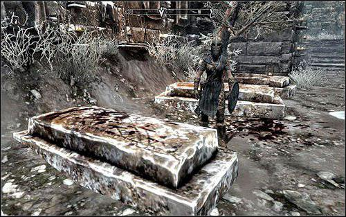 how to get blood on the snow in skyrim