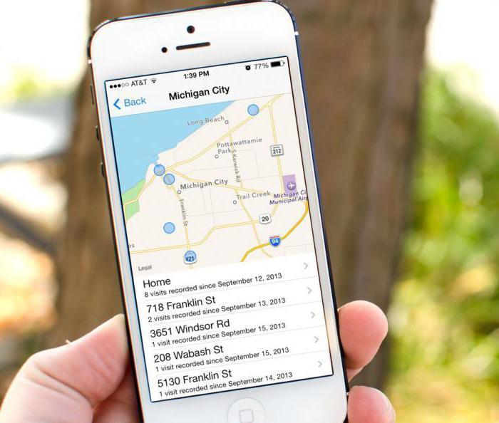 как отключить геолокацию на айфоне 5s