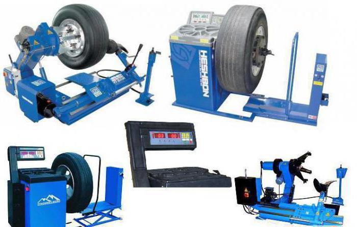 tire machine semiautomatic