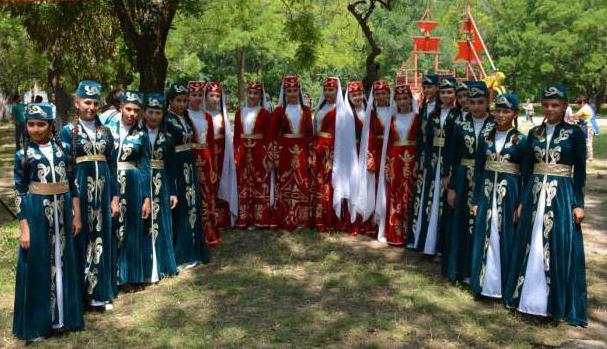 1664736 - Народный праздник татар и башкир