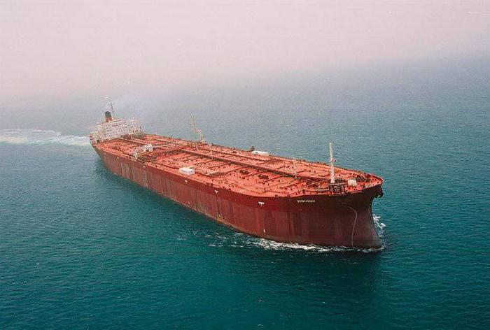 большой танкер мире