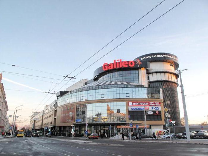 shopping centers in Minsk
