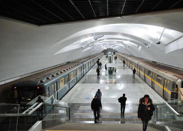 Metro Shipilovskaya Moscow