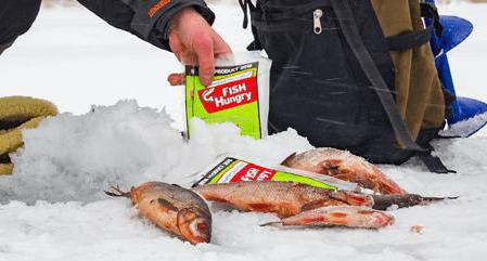 activator bite for winter fishing