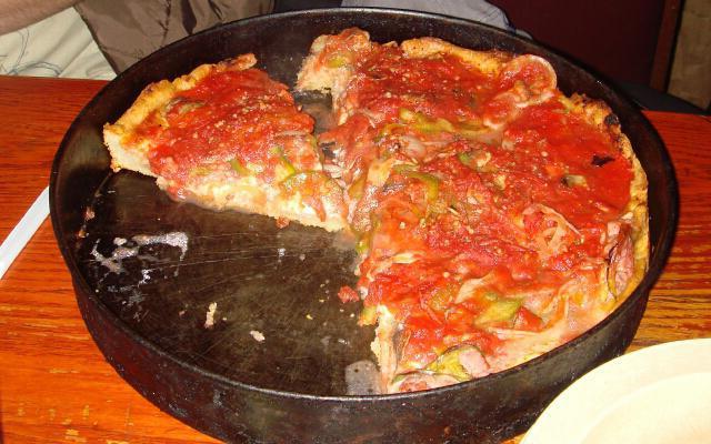 Пицца приготовленная на майонезе