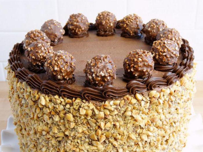 cake ferrero roshe