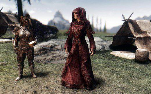 skyrim fashion on the character's appearance
