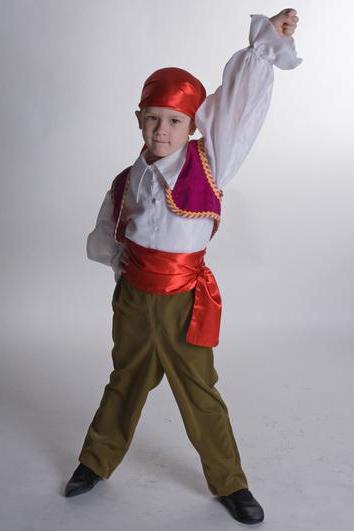 Шьем новогодние костюмы разбойников своими руками ... - photo#23
