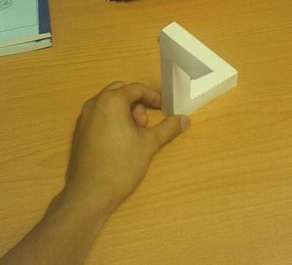 Penrose Triangle do-it-yourself paper